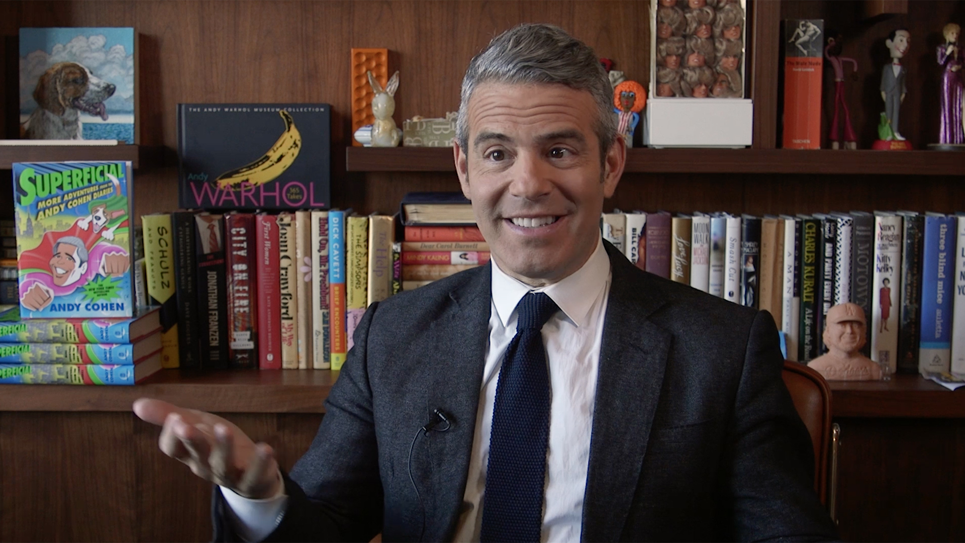 Andy Cohen 50th Birthday Plans Jimmy Fallon Interview The Daily Dish