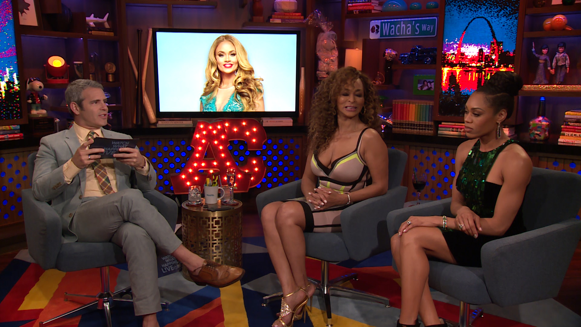 Watch Monique Samuels' First Impressions of the #RHOP 'Wives | Watch What  Happens Live with Andy Cohen Videos