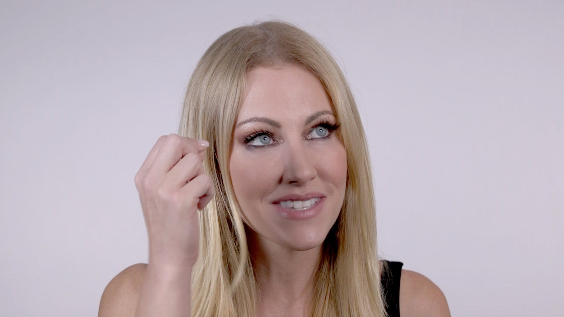Dallas Real Housewife Stephanie Hollmans Long Hair Extensions
