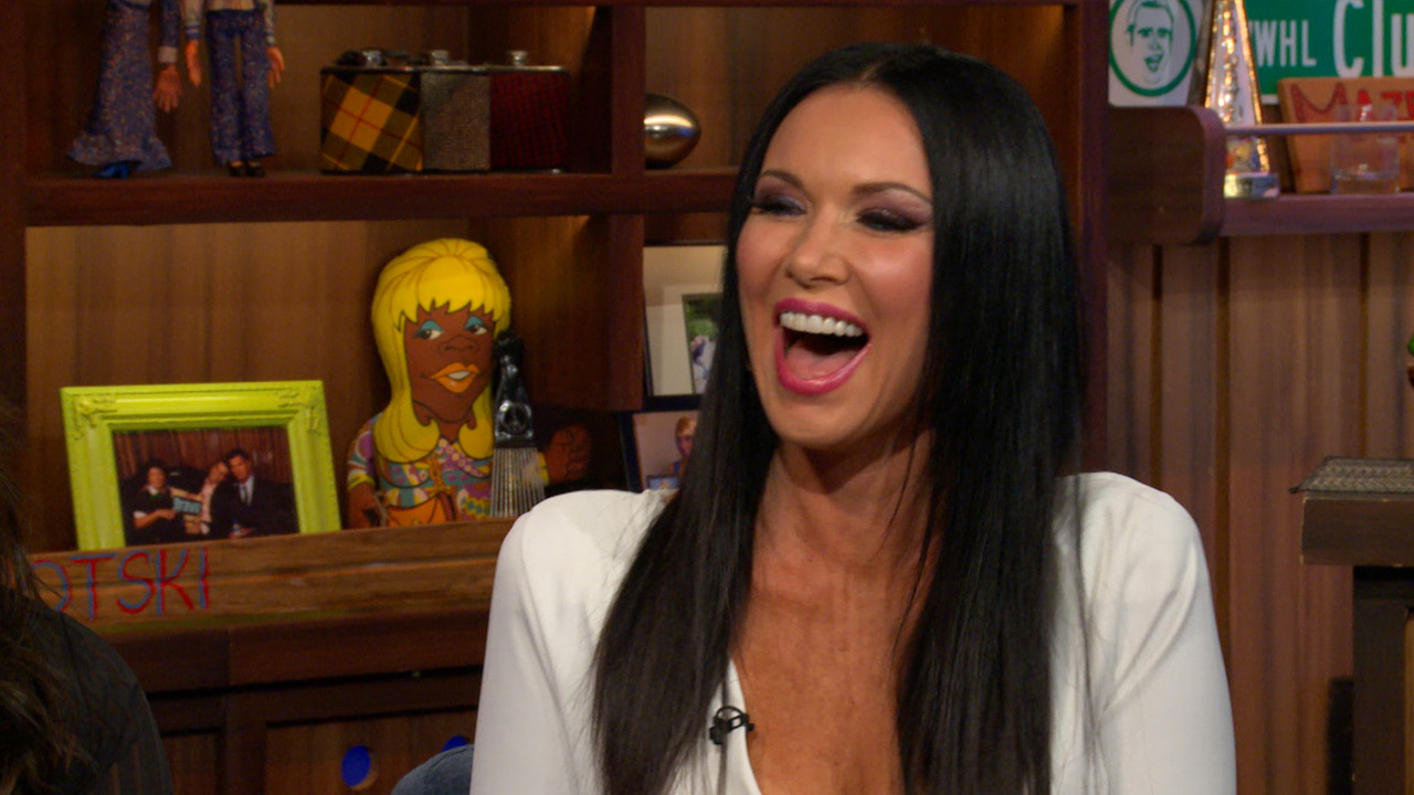 LeeAnne Locken From RHOD Defends Her Extensive Charity Work When A WWHL Caller Asks What She Thought Of Comment Made That Hosts Because