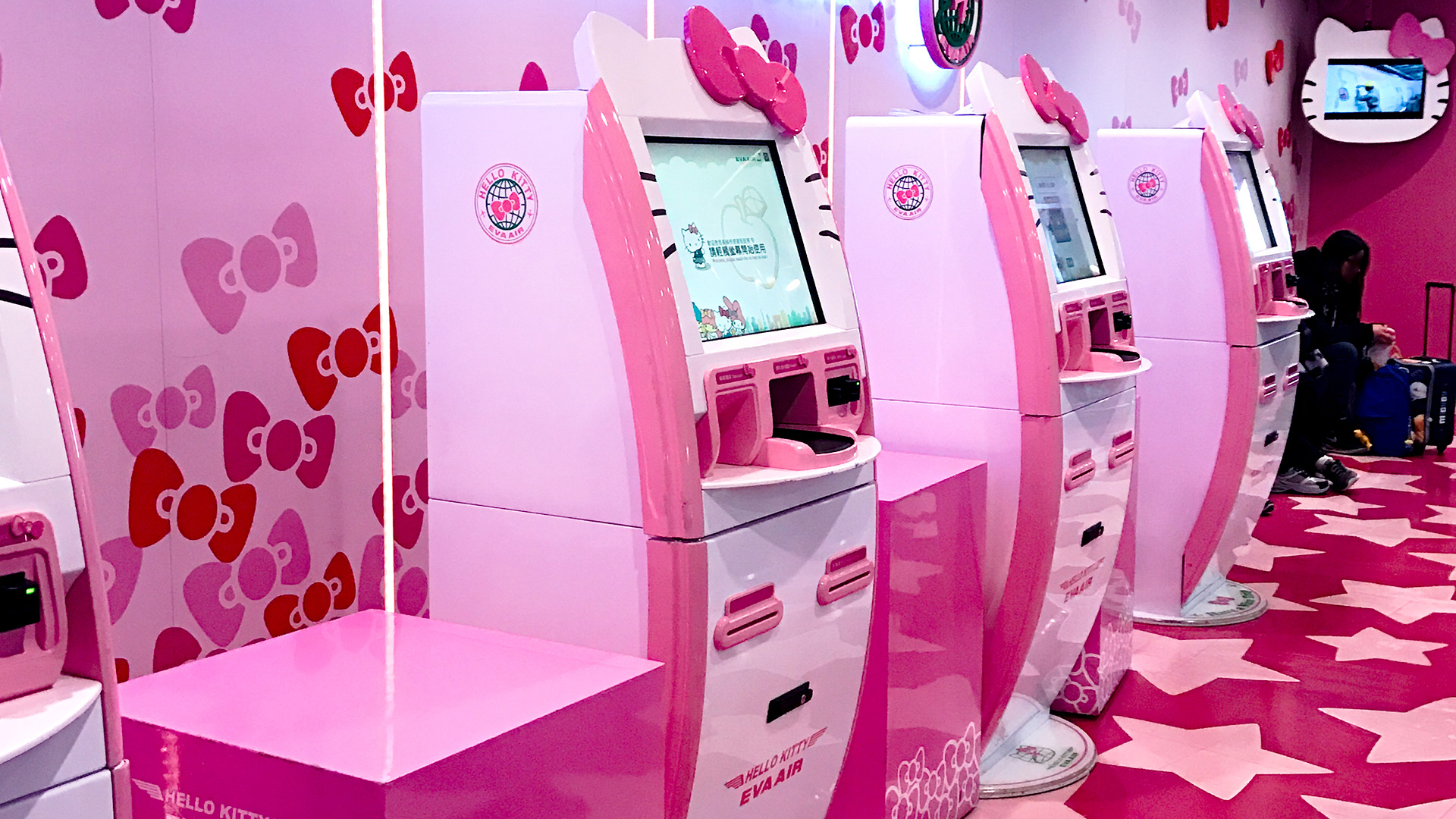 Image result for hello kitty train japan