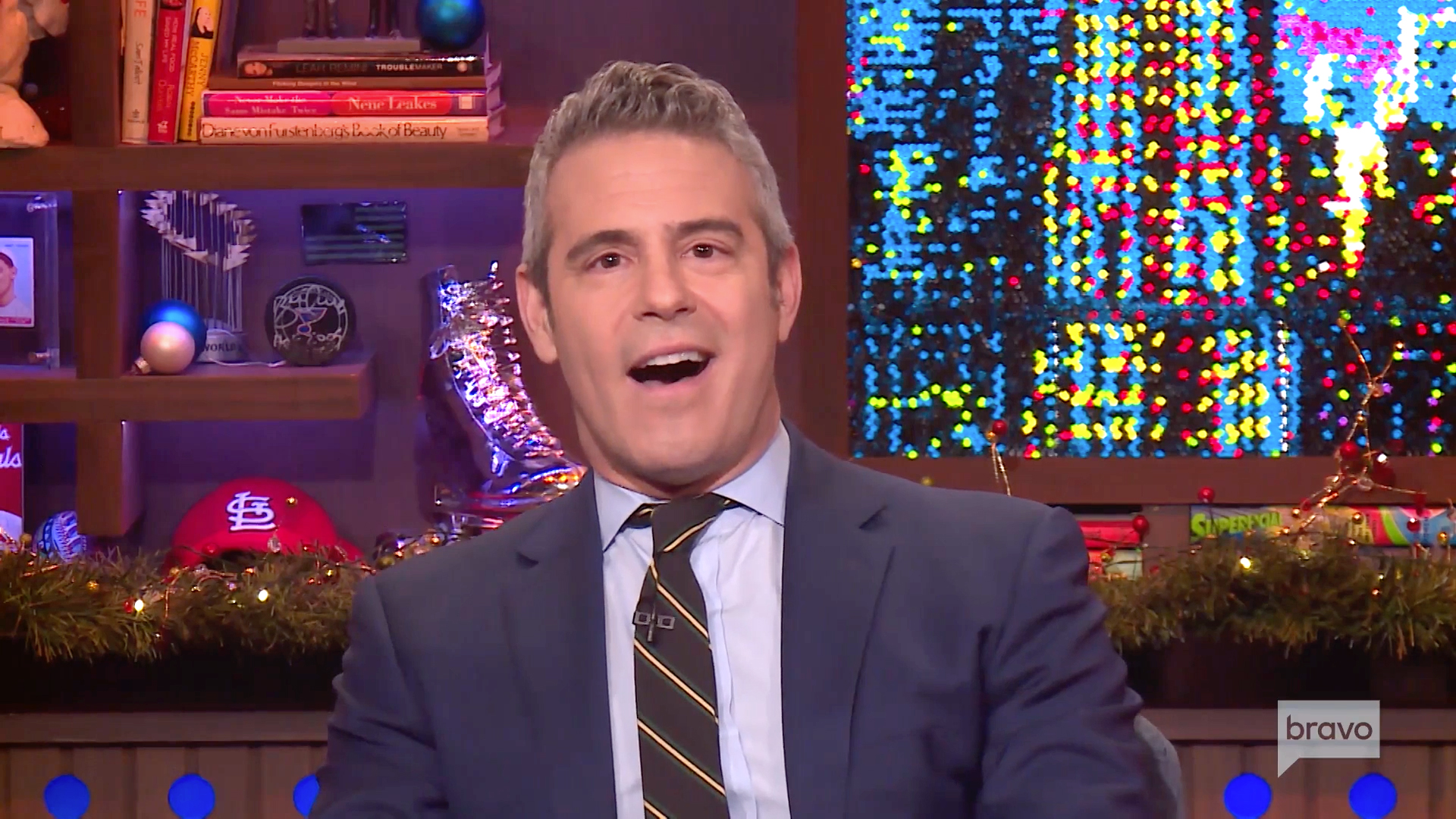 Andy Cohen Celebrated His New Baby With a Cake Topped With Their Iconic First Picture