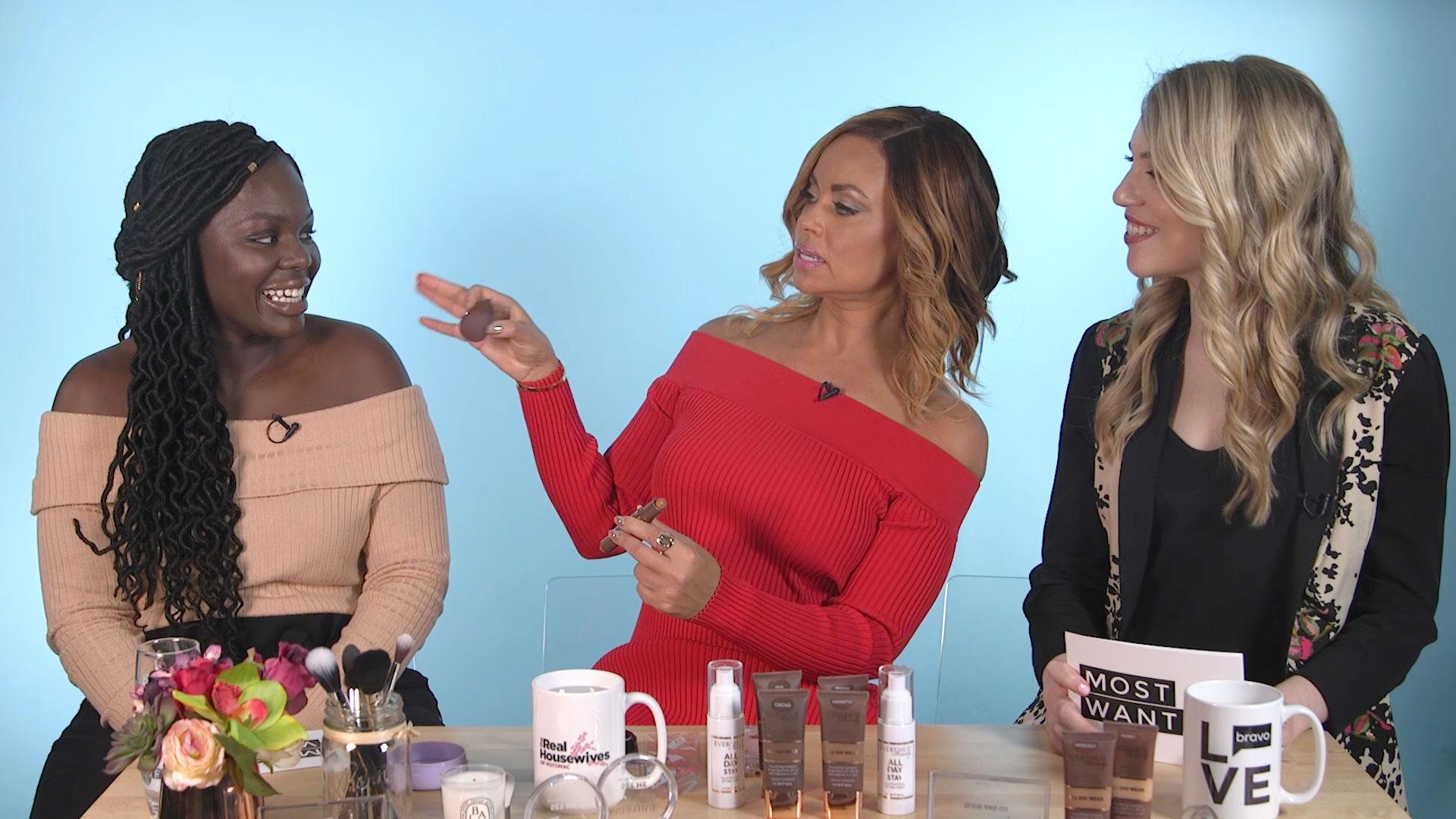 Real Housewives Of Potomacs Robyn Dixon Green Eye Makeup Lookbook