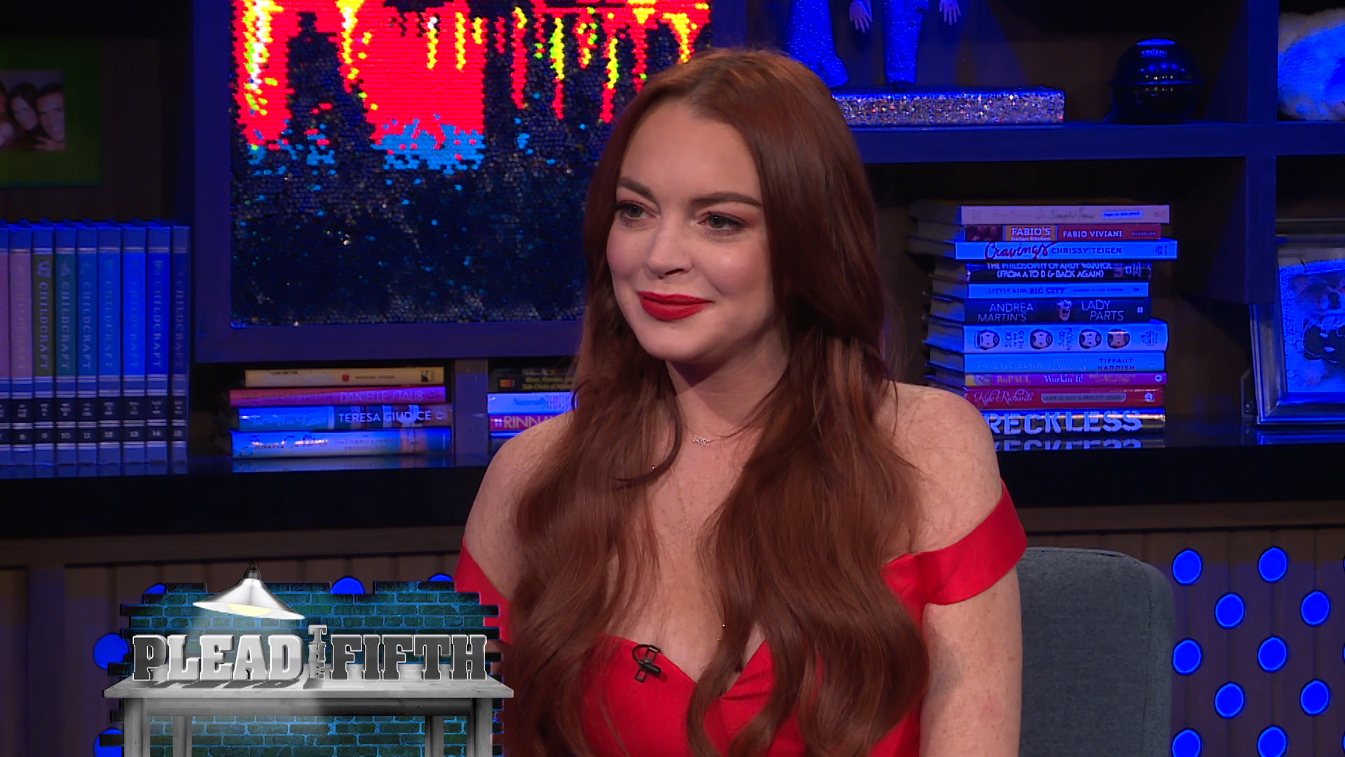 Lindsay Lohan Addresses Her Instagram Feud With Kim Kardashian on 'WWHL'