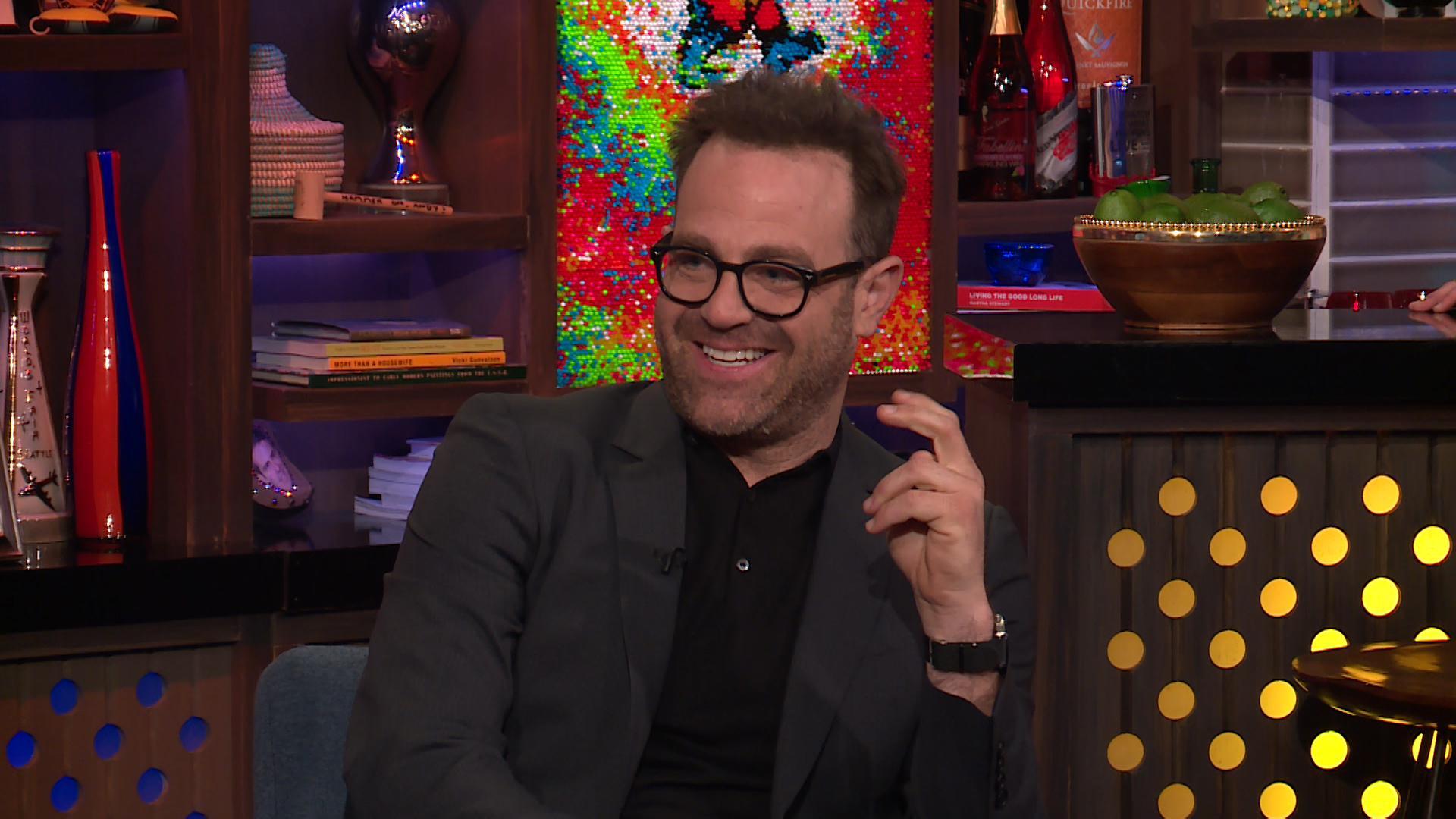 new nbc comedy i feel bad teased by stars paul adelstein sarayu blue the daily dish. Black Bedroom Furniture Sets. Home Design Ideas