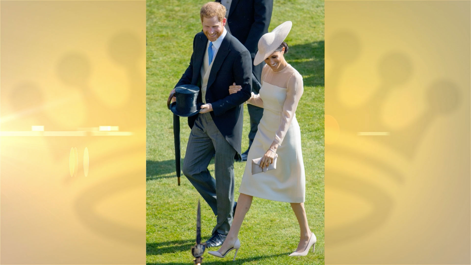 Meghan Markle Shows Her Baby Bump in a Slinky Dress... And Breaks Yet Another Royal Style Rule