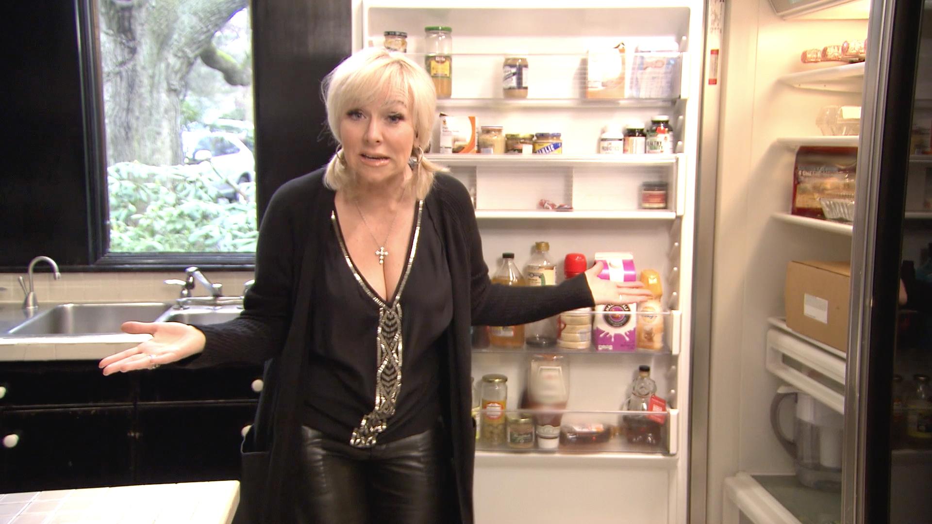 Margaret Josephs Shows Inside Fridge Video Tour Rhonj -4528