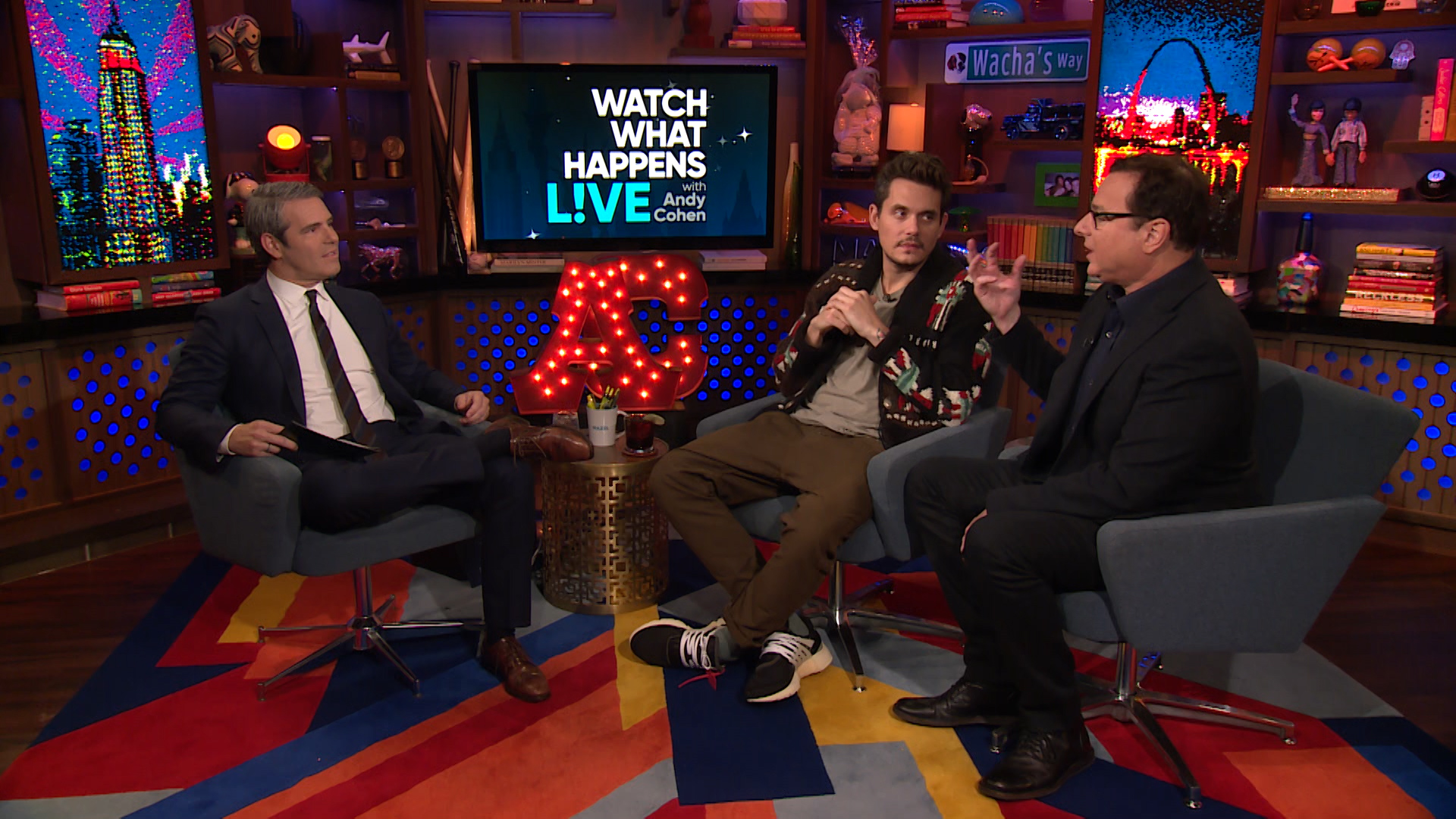 Andy cohen john mayer on brazil vacation the daily dish a wwhl caller asks andy cohen and bob saget what their favorite parts were of john mayers epic 40th birthday trip and bob shares how special john is to him m4hsunfo