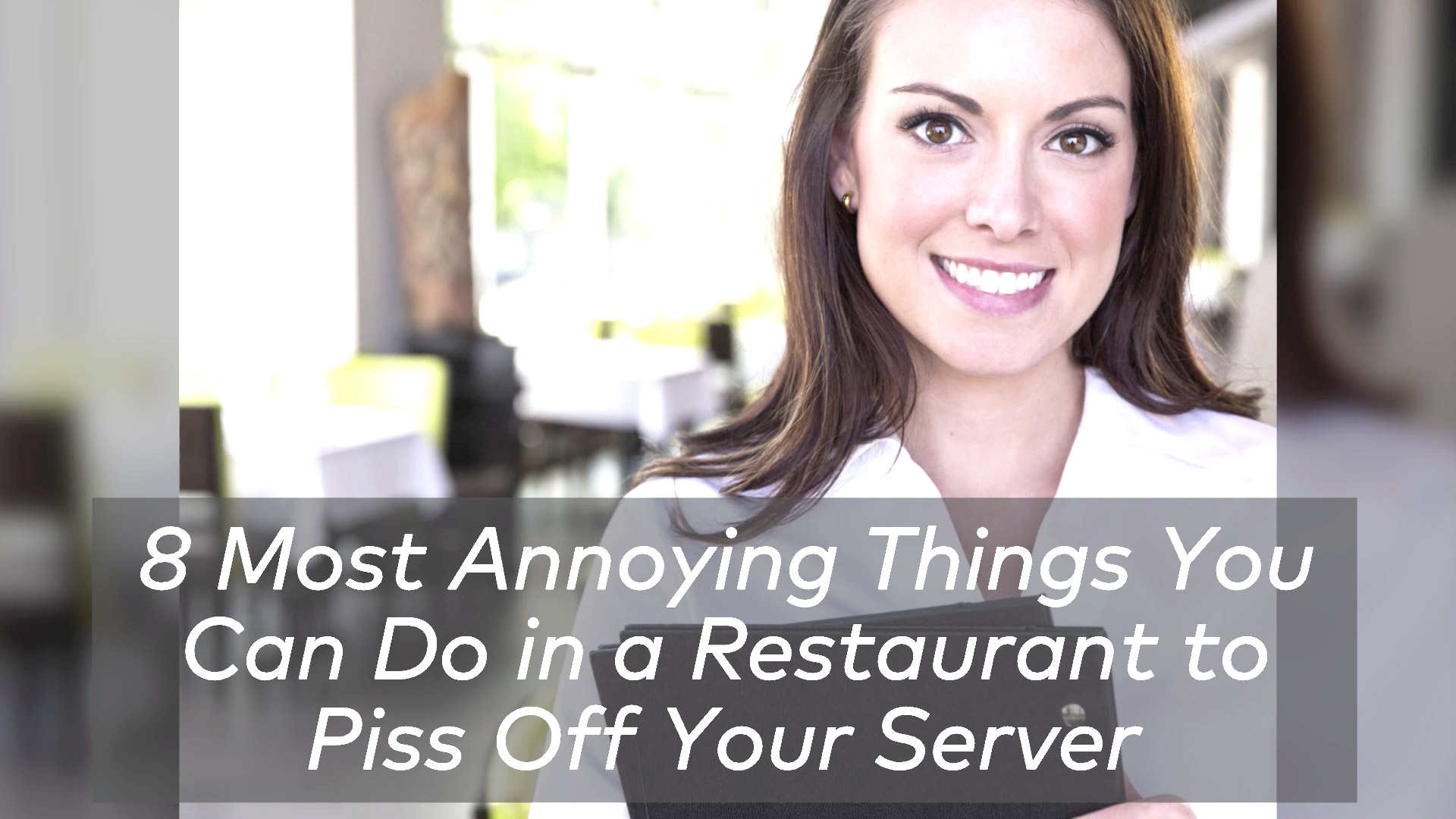 The 7 Most Annoying Things You Can Do in a Restaurant to Piss Off the Chef