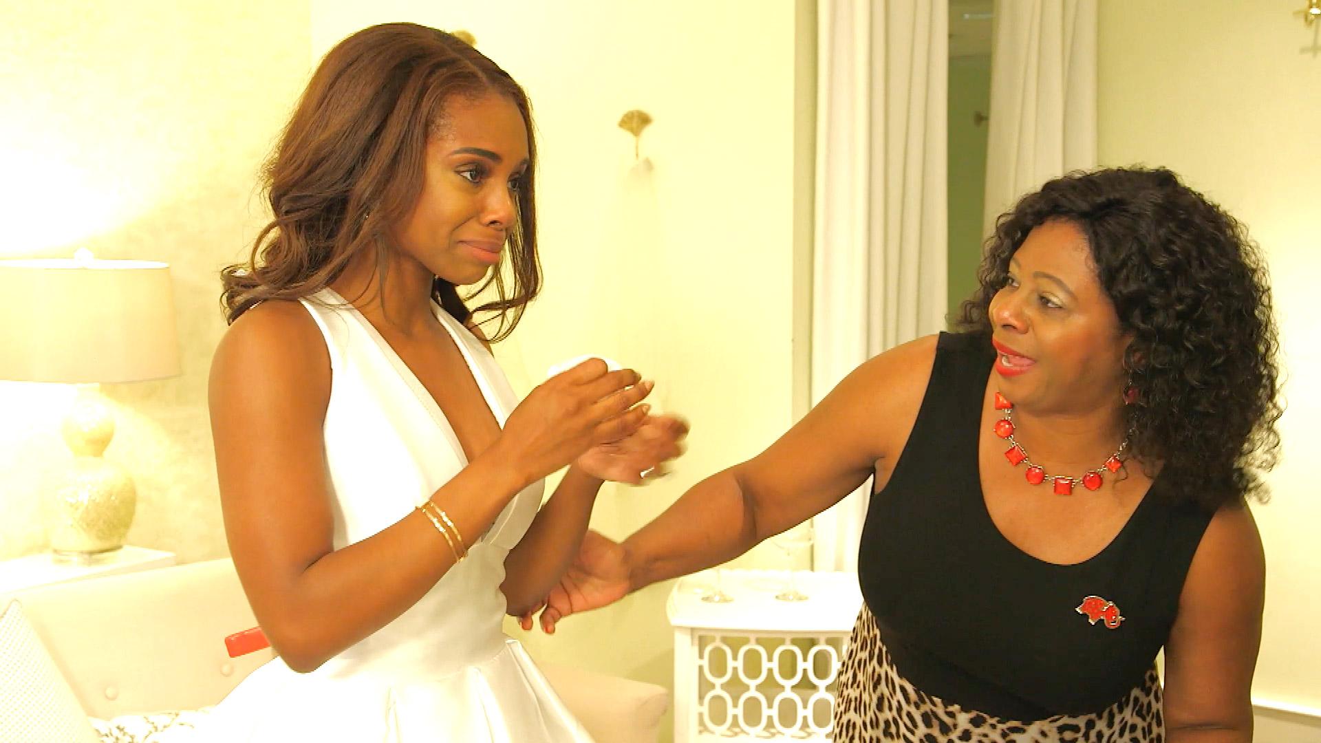 Real Housewives of Potomac\'s Candiace Dillard Wedding Dress | Lookbook