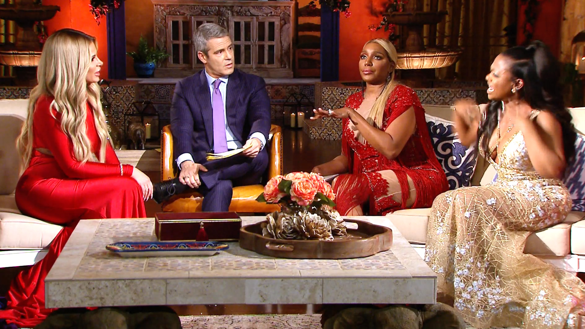 Watch Your First Look At The Rhoa Reunion The Real Housewives Of