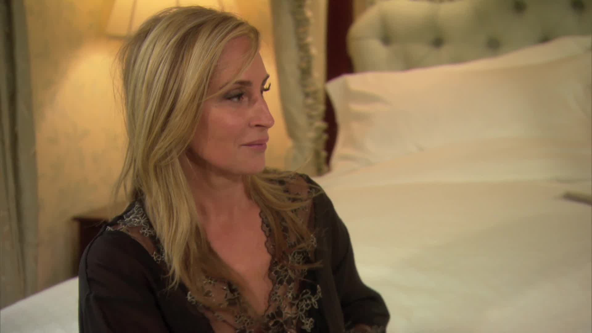 Sonja Morgan Found the Coziest Possible Way to Wear Sparkles